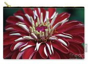 Ruby Zinnia Carry-all Pouch