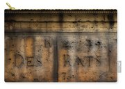 Rue Des Rats Carry-all Pouch