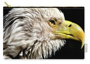 Ruffled Bald Eagle Carry-all Pouch