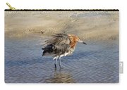 Ruffled Reddish Egret  Carry-all Pouch
