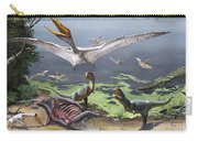 Rugops Primus Dinosaurs And Alanqa Carry-all Pouch