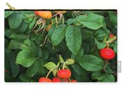 Rugosa Rose With Rose Hips Carry-all Pouch