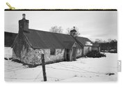 Ruined Cottage In Snow Carry-all Pouch