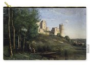 Ruins Of The Chateau De Pierrefonds Carry-all Pouch