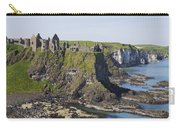 Ruins On Coastal Cliff Carry-all Pouch
