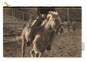 Running The Horse Carry-all Pouch