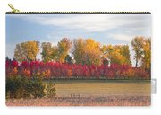 Rural Country Autumn Scenic View Carry-all Pouch