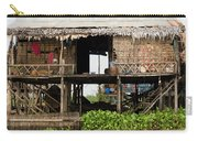 Rural Fishermen Houses In Cambodia Carry-all Pouch