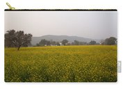 Rural Landscape With A Field Of Mustard Carry-all Pouch