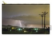 Rural Lightning Striking Carry-all Pouch