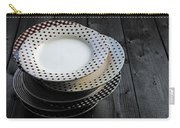 Rural Plates Carry-all Pouch by Joana Kruse