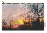 Rural Sunset  Art Carry-all Pouch