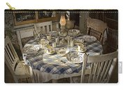 Rural Table Setting For Four No.3121 Carry-all Pouch