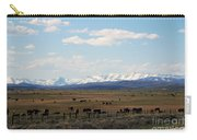 Rural Wyoming - On The Way To Jackson Hole Carry-all Pouch