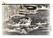 Rushing Water Cream Carry-all Pouch