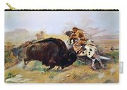 Russell: Buffalo Hunt Carry-all Pouch