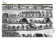 Russia: Procession, 1698 Carry-all Pouch