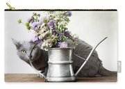 Russian Blue 03 Carry-all Pouch
