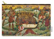 Russian Icon: Dice Players Carry-all Pouch