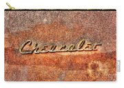 Rusted Antique Chevrolet Logo Carry-all Pouch