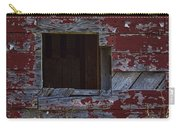 Rustic Barn Red Peeling Paint Carry-all Pouch