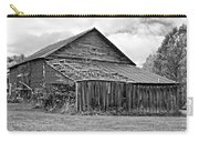 Rustic Charm Monochrome Carry-all Pouch