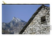 Rustic House And Mountain Carry-all Pouch
