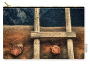 Rustic Ladder On Adobe House Carry-all Pouch