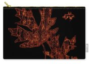 Rustic Leaves Carry-all Pouch