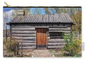 Rustic Pioneer Log Cabin - Salt Lake City Carry-all Pouch