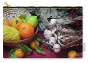 Rustic Still-life Carry-all Pouch by Carlos Caetano