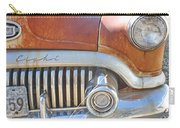 Rusty Abandoned Old Buick Eight Carry-all Pouch