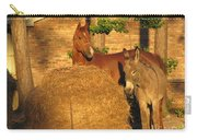 Rusty And Brown Sugar Carry-all Pouch