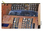 Rusty Cash Register Carry-all Pouch