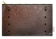 Rusty Iron Carry-all Pouch by Carlos Caetano