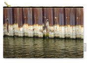 Rusty Wall By The River Carry-all Pouch