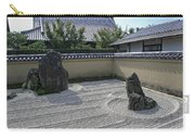 Ryogen-in Raked Gravel Garden - Kyoto Japan Carry-all Pouch