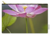 Sacred Lotus Nelumbo Nucifera Flower Carry-all Pouch