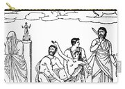 Sacrifice Of Iphigenia Carry-all Pouch