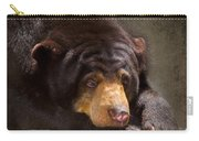 Sad Sun Bear Carry-all Pouch