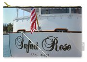 Safari Rose Lake Tahoe Carry-all Pouch