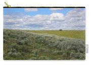 Sagebrush And Buffalo Carry-all Pouch