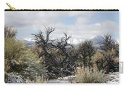 Sagebrush And Snow Carry-all Pouch
