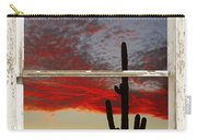 Saguaro Sunset Picture Window View Carry-all Pouch