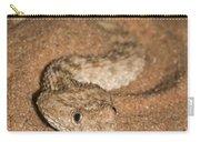 Sahara Sand Viper Cerastes Vipera Carry-all Pouch