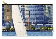 Sailboat In Toronto Harbor Carry-all Pouch