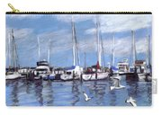 Sailboats And Seagulls Carry-all Pouch