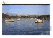 Sailboats At Anchor In Bowness On Windermere Carry-all Pouch