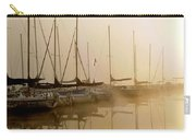 Sailboats In Golden Fog Carry-all Pouch
