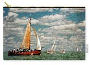 Sailboats In The Netherlands By The Zuiderzee Carry-all Pouch